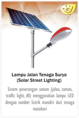 Pju Tenaga Surya Pjuts Pju Solar Cell Untuk Jalan Dan