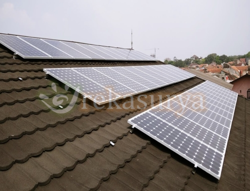 [2015-09] Supervisi PLTS Roof Top On Grid 5 kWp ~ Bandung