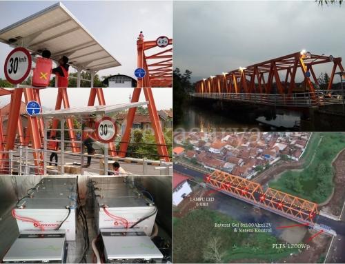 [2015-11] PLTS 1200Wp & Lampu LED 40W untuk Penerangan Jembatan – Bandung