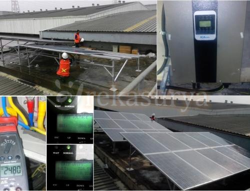 [2016-01] PLTS On Grid 5000Wp – Unilever Walls Cikarang