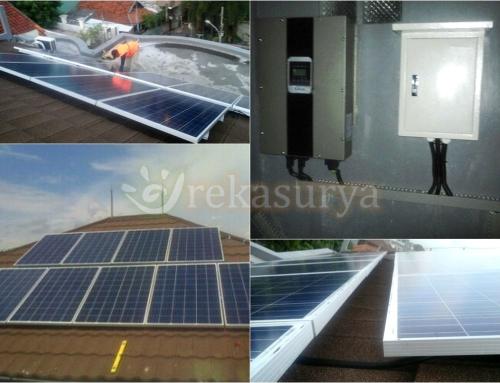 [2016-03] PLTS On Grid 5000Wp – Matraman DKI Jakarta